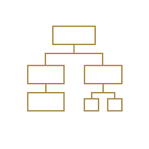 Icon_DecisionModeling_Gold